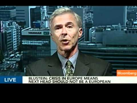 Blustein Says Next IMF Leader Should Not Be European