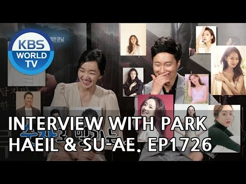 with Park Haeil & Suae Entertainment Weekly2018.08.06