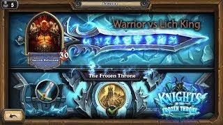 Hearthstone: Warrior vs Lich King