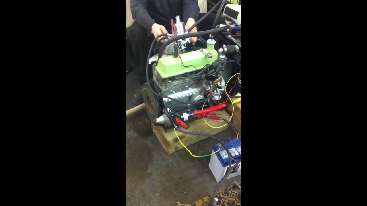 Reliant Robin Engine Test Run