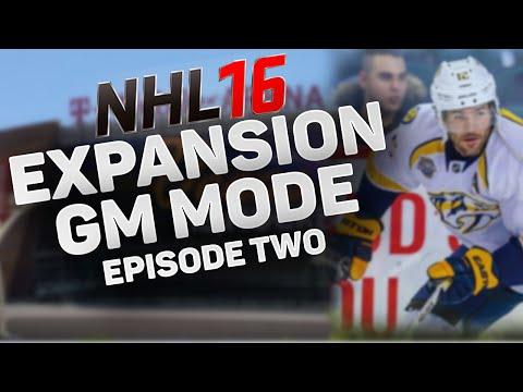 NHL 16: Expansion Team GM Mode – SEASON 2