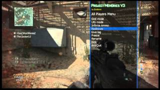 Project Memories V3 by Enstone MW3 Mod Menu [Mw3/1.24/PS3]