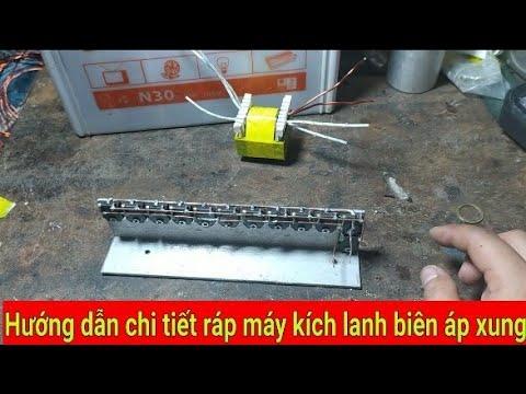 Hướng dẫn ráp máy kích lạnh chi tiết từ a_ z