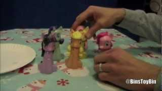 My Little Pony 2012 Bubble Bath Figures! Brony Bath Time is Magic?? by Bin