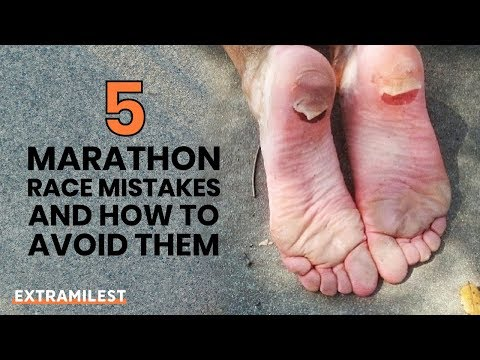 5 Marathon Race Mistakes and How to Avoid Them!