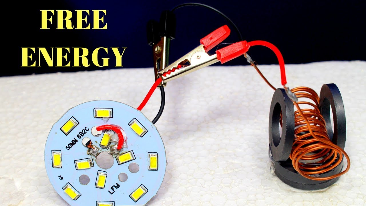 Free Energy Device, Free energy generator for light bulbs Using ...