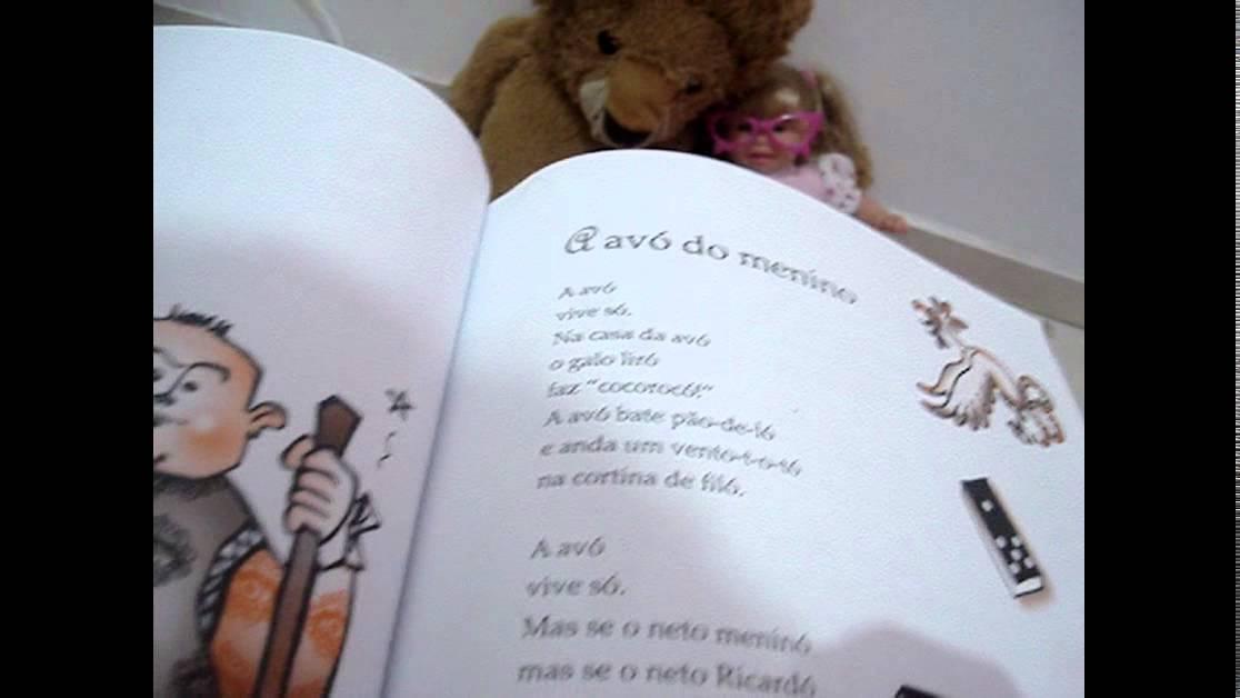 Poema Avó Do Menino Youtube
