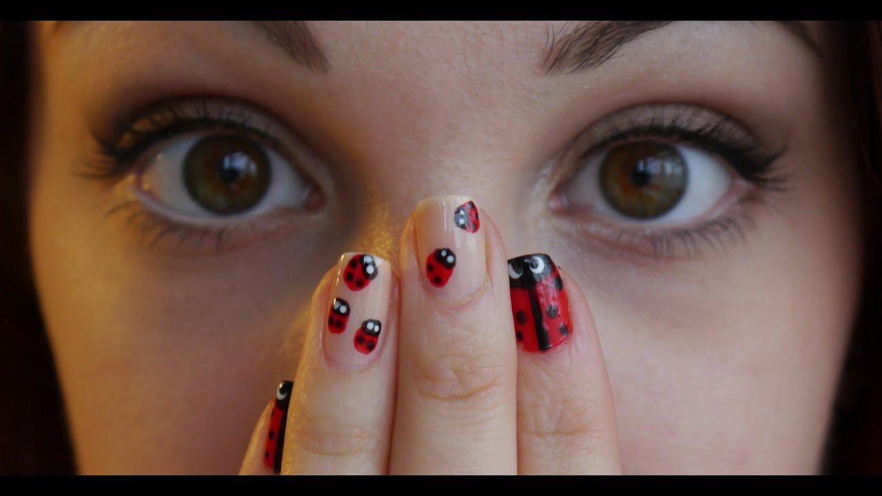 Ladybird Nail Art Youtube