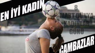 Amazing Football Player Girls - 8 March World Women's Day