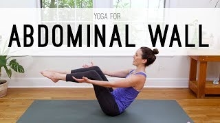 Yoga For Abdominal Wall | 14 Minute Core Practice | Yoga