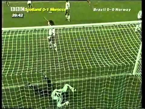 Scotland vs Morocco  World Cup 1998 France