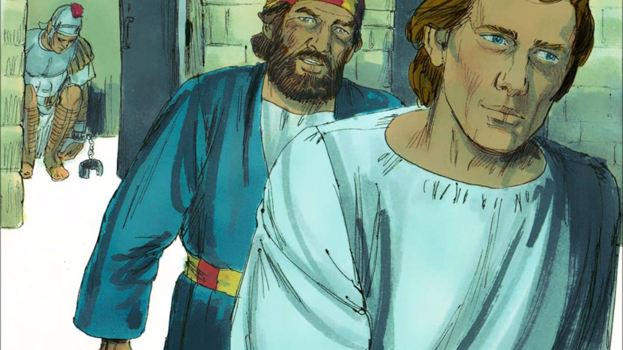 an angel saves peter from prison and herod acts 12 read for