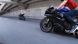 Biker's ROLL RACING - MODDED 1000cc 190MPH+ Races #2 - FNF