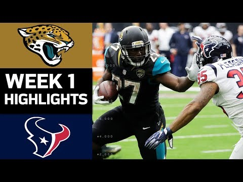 Jaguars vs. Texans | NFL Week 1 Game Highlights