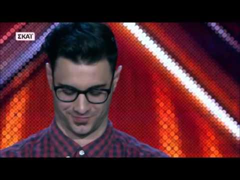 X FACTOR GREECE 2016 | FOUR CHAIR CHALLENGE | ΙΑΝ ΣΤΡΑΤΗΣ