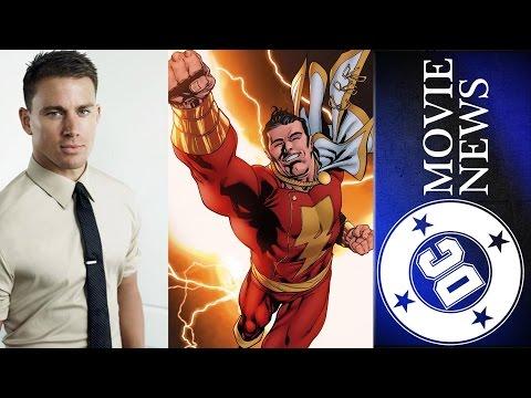 Channing Tatum as Shazam?, Batman Arkham VR & More - DC Movie News