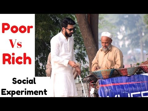 POOR Vs RICH | Blind Man Honesty Test (Social Experiment) in Pakistan