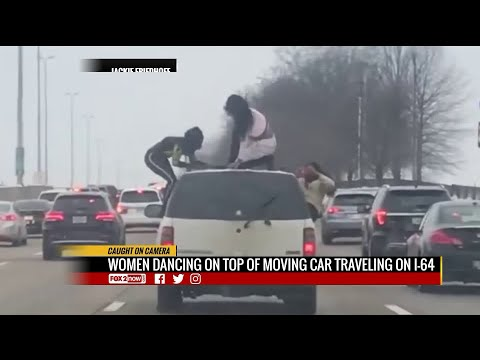 Brother Wease - Viral Video: Women Twerking on Moving Car