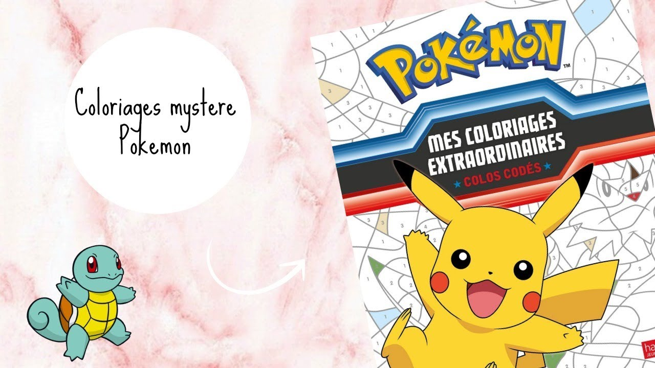 Coloriages Accelere 9 Colos Codes Pokemon Youtube