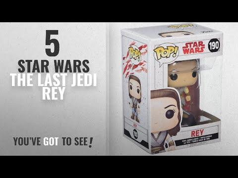 Top 10 Star Wars The Last Jedi Rey [2018]: Funko POP! Star Wars: The Last Jedi - Rey - Collectible