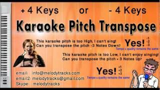 Agar tum na hote KarAoke - www.MelodyTracks.com