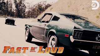"Gas Monkey's Chase Scene from the Movie ""Bullitt"" 