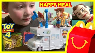Toy Story 4 McDonalds Happy Meal Toy | RV Build DIY | Forky Woody Buzz Lightyear | Kids Meal Benson