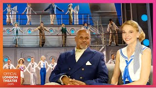 Anything Goes stars Sutton Foster and Gary Wilmot | Performances and interviews