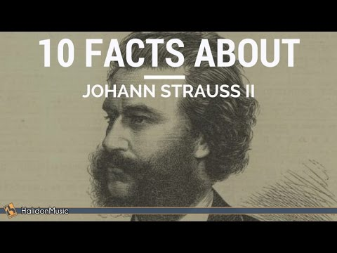 Strauss II  10 facts about Johann Strauss II  Classical Music History
