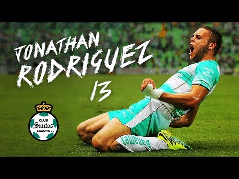 Jonathan Rodríguez | Santos Laguna 2016 - 2018 | LigaMX