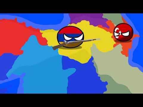 Countryballs History Of Armenian-Azerbaijan War 1918-1920