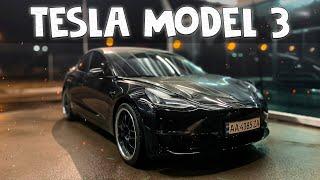 Tesla Model 3 - авто на каждый день или спорткар для удовольствия?