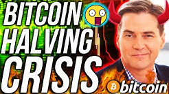 BITCOIN HALVING CRAIG WRIGHT MARKET CRASH?!! USA STOCK MARKET CRASH TOMORROW!! CRYPTO NEWS!