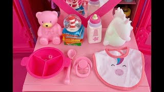 Download NURSERY REVEAL ~ NEW BABY DOLLHOUSE ROOM CLOSET TOUR! Mp3 and Videos