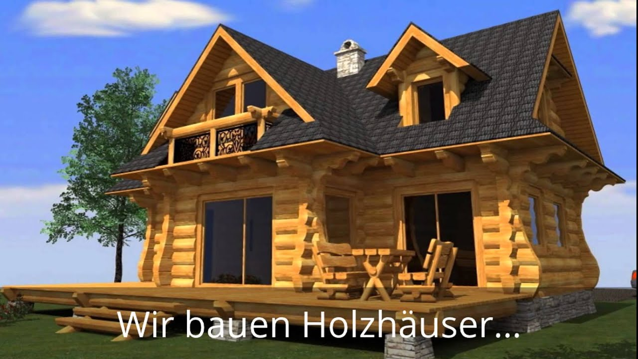 blockhaus aus polen g nstig polnische blockh user youtube. Black Bedroom Furniture Sets. Home Design Ideas