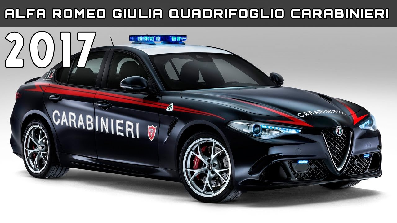 2017 alfa romeo giulia quadrifoglio carabinieri review rendered price specs release date youtube. Black Bedroom Furniture Sets. Home Design Ideas