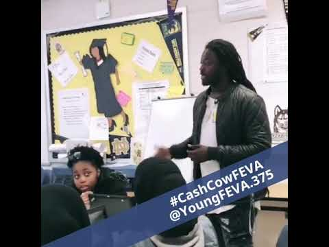 FEVA Speaking at Francis C Hammond Middle School