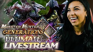 Monster Hunter Generations Ultimate Demo Livestream with Special Guest Mica Burton