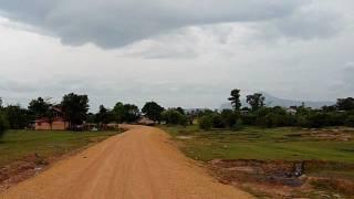 Dirt Road in Pakse, Laos 02