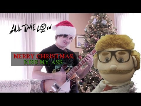 Merry Christmas, Kiss My Ass (All Time Low) Cover by: Chris Allen Hess - YouTube