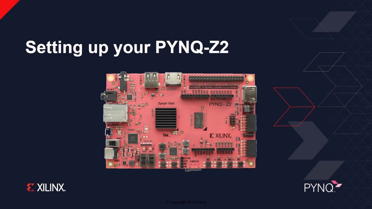 PYNQ-Z2 Python FPGA Board Adds Raspberry Pi Header, 24-Bit Audio Codec