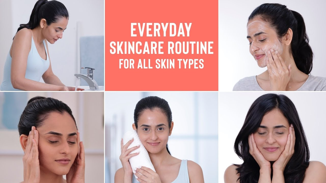 The perfect beginners SKINCARE ROUTINE for all skin types!