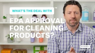 What's the Deal With EPA Approval in Products?