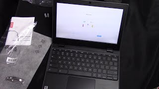 Lenovo 100e Chromebook Unboxing - 2019 2nd edition version