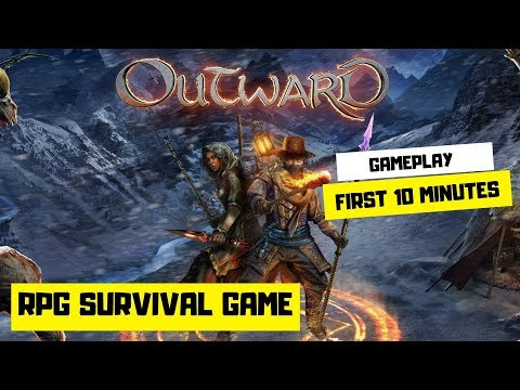 Outward My First 10 minutes Gameplay - RPG Survival Game |