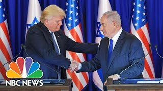 President Donald Trump Pledges 'Renewed Effort' For Peace Between Israelis, Palestinians | NBC News