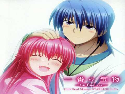 Girls Dead Monster の一番の宝物 ~Yui final ver.~です。 歌詞は普通のYui ver.と変わりません。 final と普通の違いはちょっと演奏が違うだけです。...