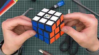 Making fully functional Rubik`s cube out of paper