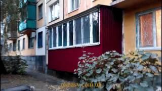 видео Пристройка балкона на первом этаже