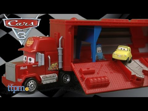 Cars 3 Travel Time Mack from Mattel